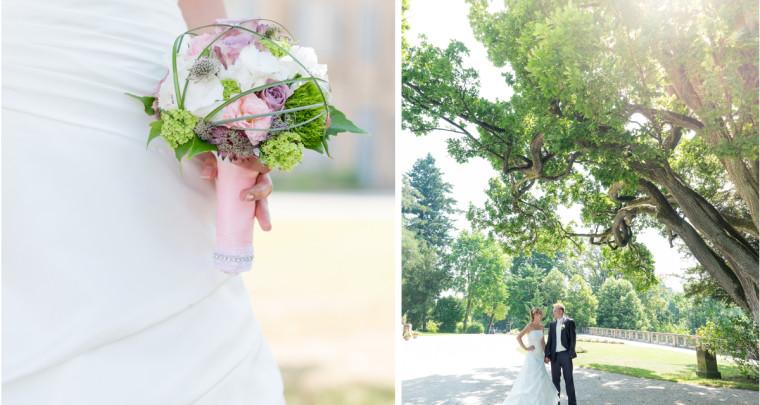 Hochzeit im Hochsommer