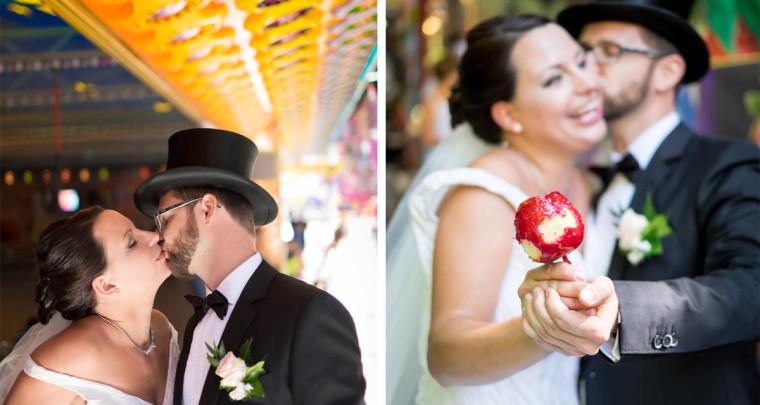 Hochzeit auf dem Annafest