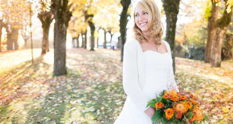 Bridalshoot im Herbst
